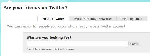 Twitter lance la recherche de personnes
