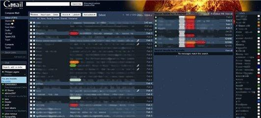 Multiples vues sur Gmail mais pas de multiples comptes
