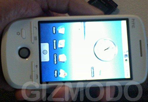 Le HTC G2 Androïd en avant première chez SFR en mars 2009 ?