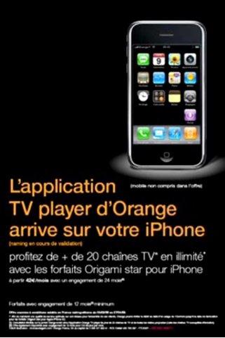 Orange TV sur iPhone