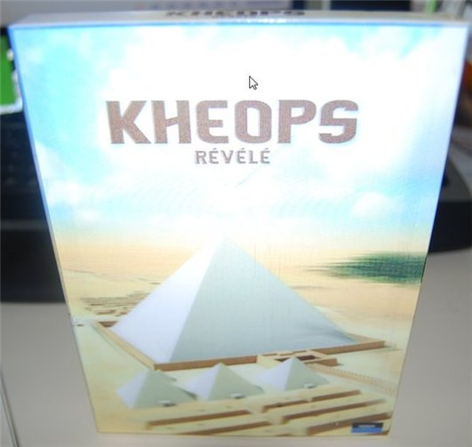 Kheops Révélé - Les secrets de la construction de la pyramide en 3D interactif