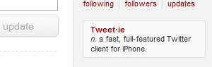 Twitter Premium avant fin 2009