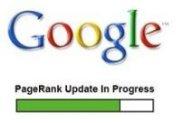 PageRank mis à jour ... mais pas d'augmentation ici
