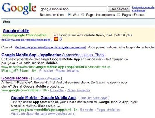 Pas simple d'etre mieux référencé que Google sur Google et pourtant ...