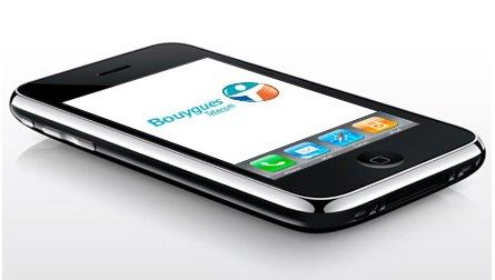 Bouygues Telecom et l'iPhone 3G