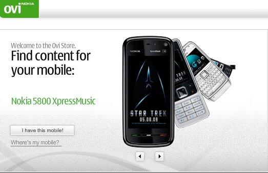 OVI Store Nokia - des milliers d'applications à télécharger