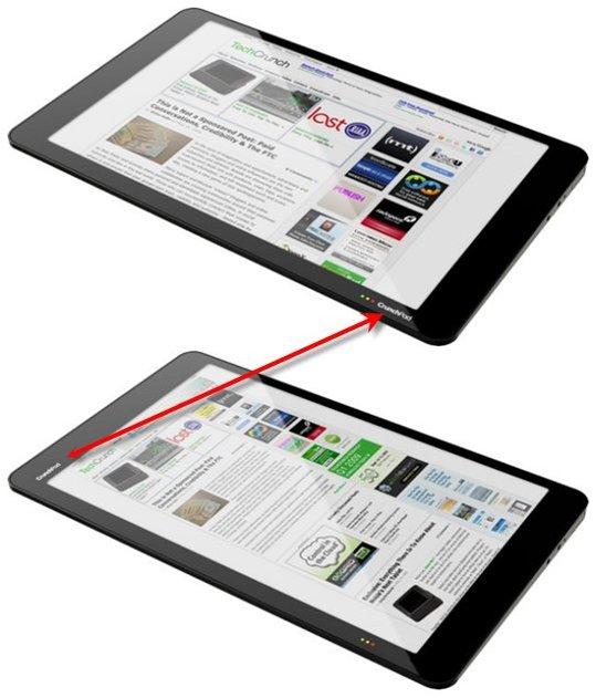 La CrunchPad prend la forme d'une Tablette Apple !