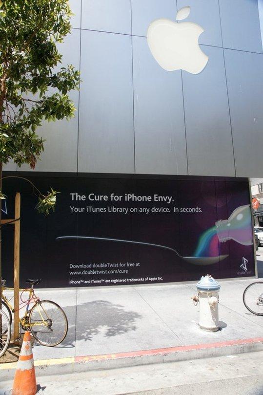 Une pub qui doit rendre Apple fou de rage