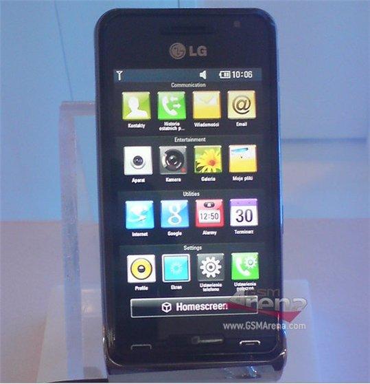 LG GC990 Louvre - Camera 12 M pixels pour vidéo HD