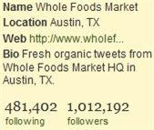 Des comptes Twitter avec 1 million de Followers ou presque
