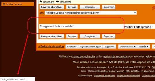 Impossible d'envoyer des mail avec mon Gmail, une solution ?