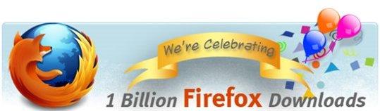 Firefox - Le Milliard ... le Milliard