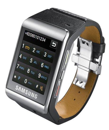 Samsung S9110 - La montre téléphone tactile à 450 €