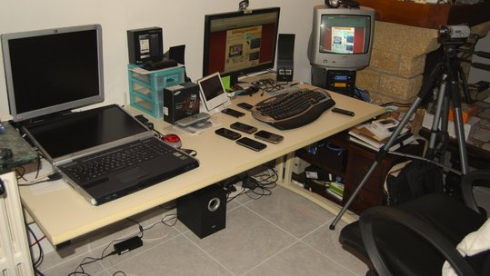 Evolution de mon espace de travail