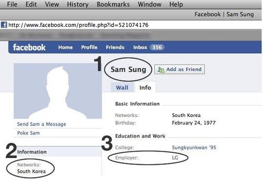 Sam Sung travaille chez ... LG !!!