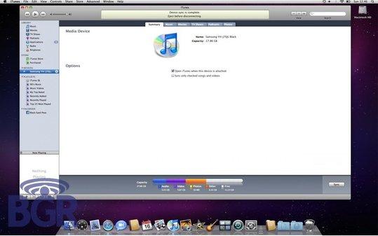 iTunes9 ouvre la synchronisation aux autres mobiles