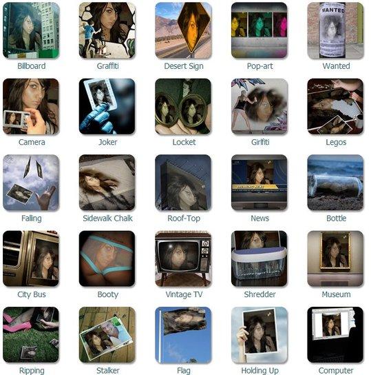 EffMyPics - Mise en scène de photos