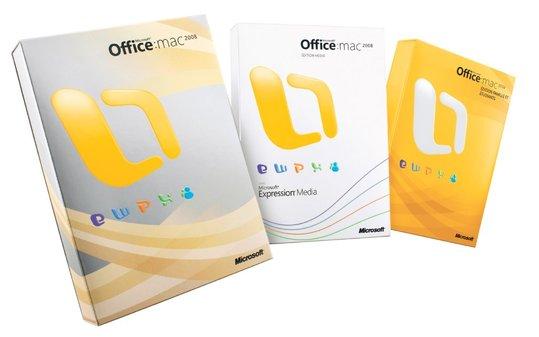 Microsoft et AccessOWeb vous offrent 2 pack Office Mac 2008