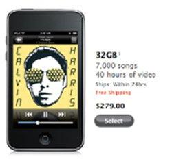 Les tarifs des iPod et iPod Touch après la Keynote