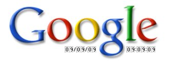 Google le 9-09-09 à 09h09