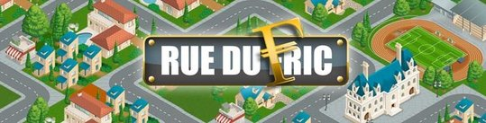 Rue du Fric = Monopoly + SimCity