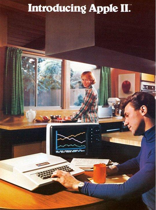 Apple de 1970 à aujourd'hui vu par la publicité
