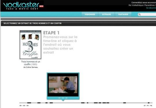 Vodkaster - La séquence du spectateur 2.0