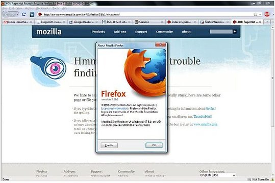 Téléchargez Firefox 3.6 en version Beta RC1