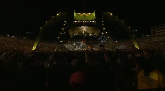 Concert de U2 en Live - Merci Youtube