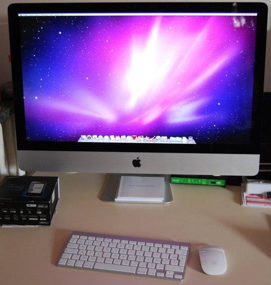 Apple iMac 27 pouces - mes premières impressions à chaud