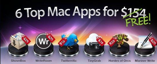(info) 6 applications pour Mac gratuites au lieu de 154 $