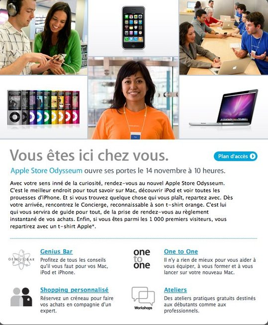 Apple Store de Montpellier - Vous y serez samedi ?