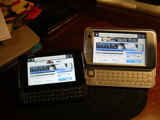 Fennec -Firefox Mobile officiel sur Nokia N810 et N900