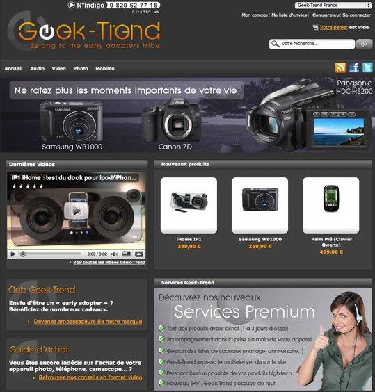 Geek-Trend ouvre officiellement en ligne