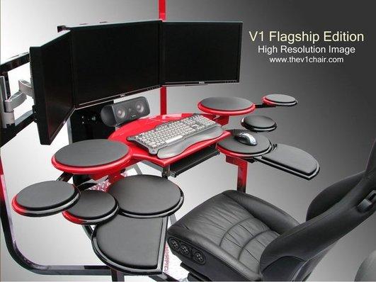 Fauteuil Bureau Bois Roulettes : Chaise bureau geek chaise bureau bois roulettes design du monde