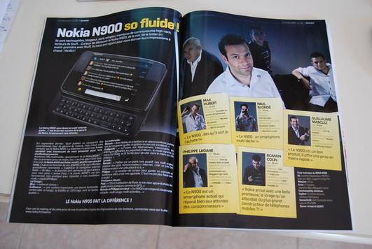 Shoot photos pour Stuff et le Nokia N900 - une belle expérience
