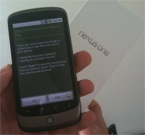 Nexus One - Va t on le payer 529 € ou 529 $