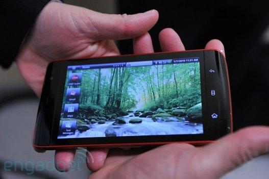 """(CES 2010) Dell présente le """" Streak """" sous Android"""