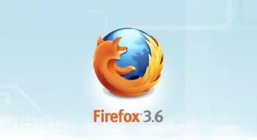 Firefox 3.6 arrive aujourd'hui