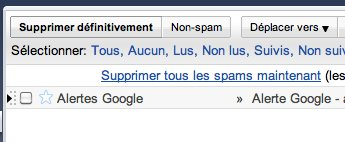 Google s'auto spamme maintenant ?