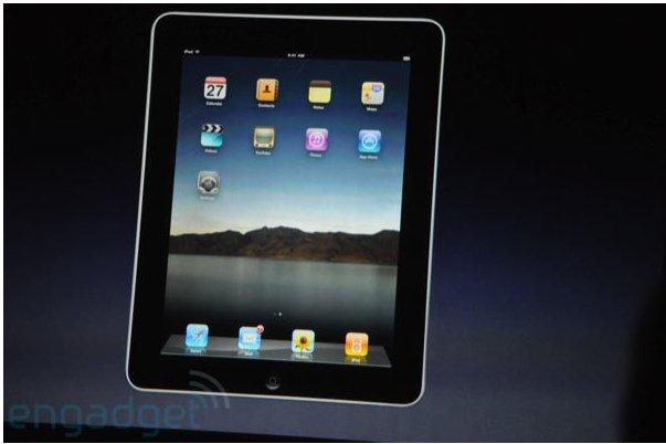 Apple iPad  - La présentation officielle de la tablette Apple