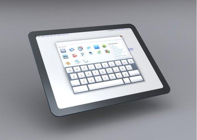 Un concept de Tablette sous Chrome OS