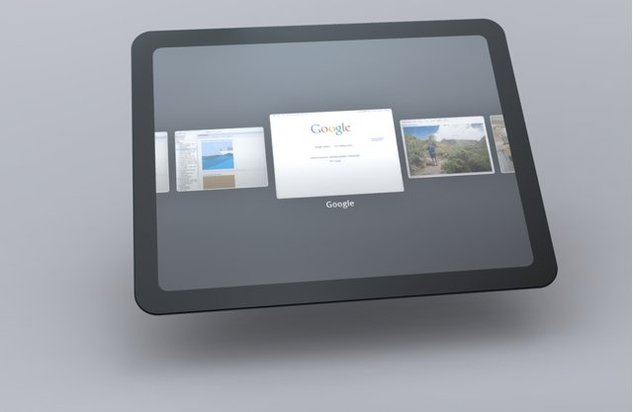 Un concept de Tablette sous Chrome OS