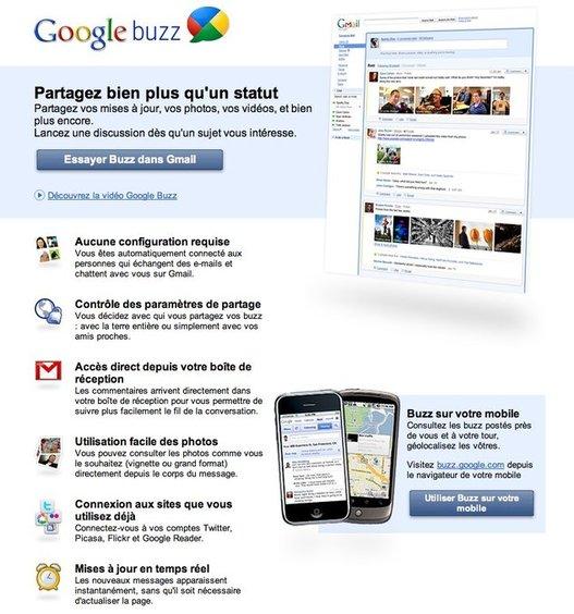 Google Buzz tente de rendre Gmail social