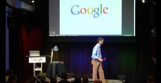 Google Buzz - La vidéo de la conférence de Google