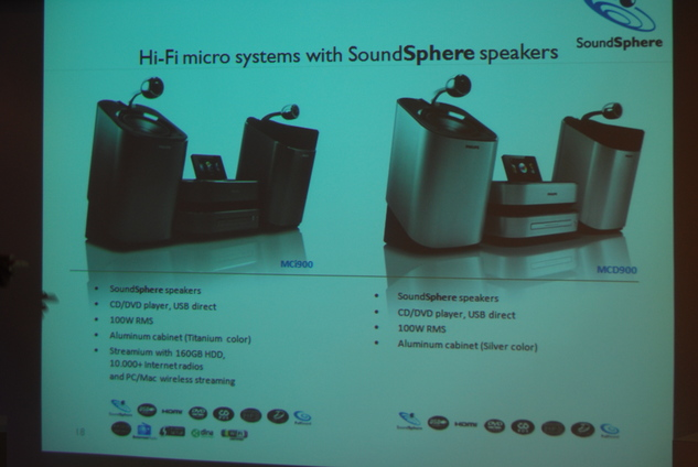 Philips SoundSphere - Le son a l'état pur