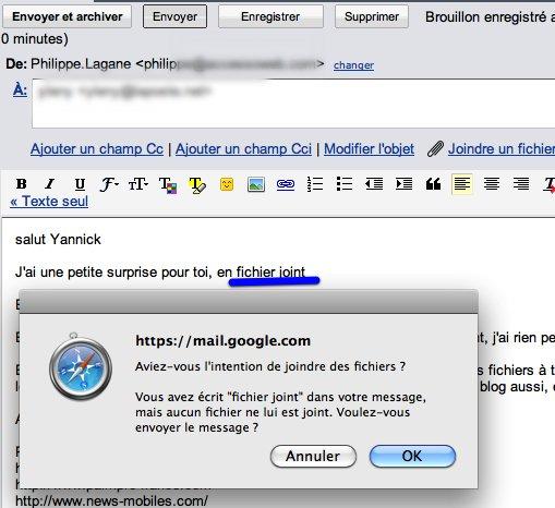 Doit on avoir peur de la détection de mots dans Gmail ?