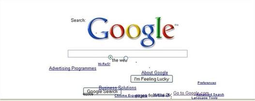 Google défie les lois de la gravité ... enfin il essaye