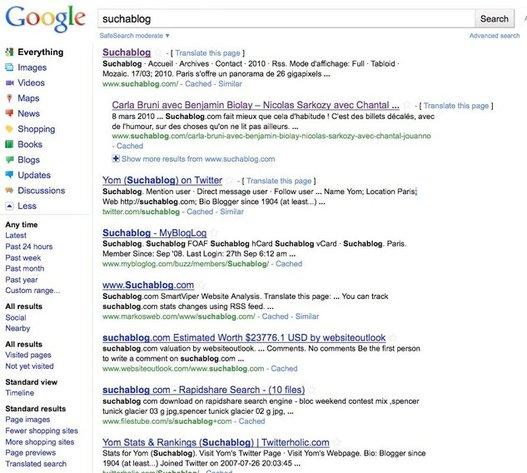 Google - Changement de design et nouvelles fonctionnalités pour bientôt ?
