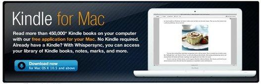 Amazon annonce le Kindle pour MAC